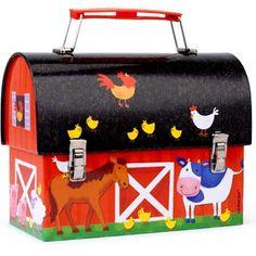 Barn lunch box - farm party prize?