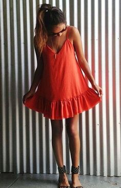 Red summer dress song baby
