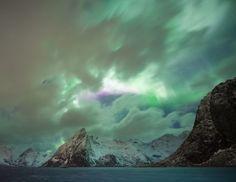 Pink aurora by Ann Silvestre on 500px