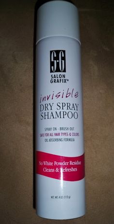 Salon Grafix dry shampoo. Would not repurchase. Almost no scent. No white residue. Does not eliminate my oily roots or add much texture.
