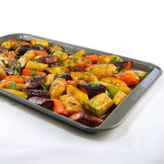 Spiced and Roasted Multi-Colored Organic Carrots - made this week, it was surprising the carrots tasted the same no matter the color. Colorfully delicious tho'.
