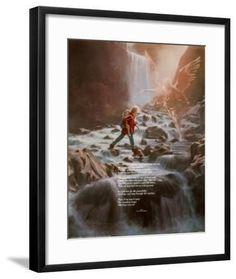 'Guardian Angel' Art Print - Danny Hahlbohm | Art.com Bible Verse For Today, Bible Verses, Angel S, Art Prints, Painting, Art Impressions, Painting Art, Paintings, Scripture Verses