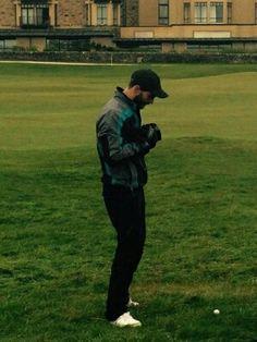Jamie Dornan at Alfred Dunhill Golf Championships Oct2014
