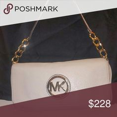 Michael Kors Clutch purse White, authentic Michael Kors clutch. Michael Kors Bags Clutches & Wristlets