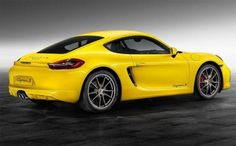 Mello Yello Cayman S by Porsche Exclusive Exotic Sports Cars, Exotic Cars, Cayman S, Mode Of Transport, Porsche Cars, Exterior Colors, Fast Cars, Sport Cars, Antique Cars