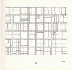 Le Corbusier 'The Modulor' 1954 1945 Grid Design, Le Corbusier, Vernon, Theory, Liberty, Editorial, Scrapbooking, Design Ideas, Ship