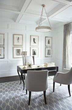 I ♥ this home office Designer Linda McDougald...