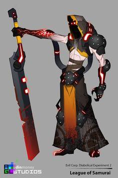 Dread knight Mercenary - Heavenly Gods