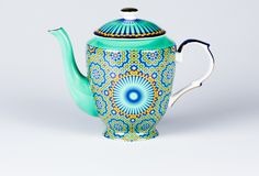 Casbah Teapot Mosaic Green. Would very much like this in my kitchen!