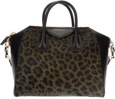 GIVENCHY                                                                                                                                                        Tote in Leopard                                                                                                      ✤HAND'me.the'BAG✤