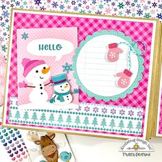 Artsy Albums Scrapbook Album and Page Kits by Traci Penrod: Winter Wonderland Mini Album Kit Mini Scrapbook Albums, Mini Albums, Snow Much Fun, Memory Album, Snowman Cards, Winter Fun, Winter Snow, Winter Photos, Winter Cards