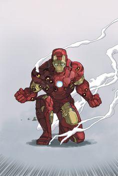 Iron Man by Dave Seguin *