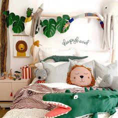 Safari Bedroom, Animal Bedroom, Baby Bedroom, Baby Boy Rooms, Kids Bedroom, Boys Jungle Bedroom, Jungle Nursery Boy, Lion Nursery, Bedroom Green