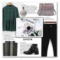 """green&black"" by emina-la ❤ liked on Polyvore featuring Valentino"