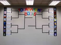 Tournament of Books....perfect to go with March madness!