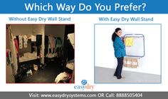 Easydry is a next-generation, super-absorbent fabric that uses the latest technological innovations in textile design to create luxurious disposable towels. Clothes Drying Racks, Floor Space, Hostel, Textile Design, Range, Luxury, Check, Wall, Room