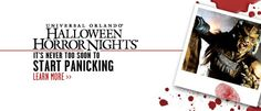Halloween Horror Nights at Universal... Get your tickets from www.orlandoattractiontickets.co.uk if you're brave enough?