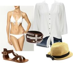 """""""Beach Day"""" by michelle-barrientos on Polyvore"""