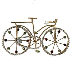 Metal Bike Ornament  08-683026