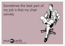 Thinking Pink: Work Funnies