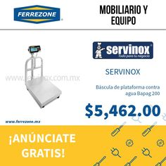 #MobiliarioYequipo #Báscula  http://www.ferrezone.mx  El mercado ferretero de México #Anúnciate #gratis