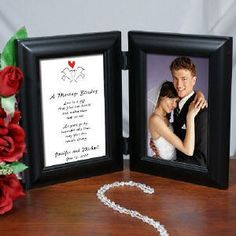 Personalized Wedding Picture Frame |