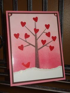 Valentine Tree by megala3178 - Cards and Paper Crafts at Splitcoaststampers