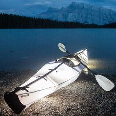 Today's a great day for some kayak-lake time; but tonight could be awesome! How perfect is this lit ORU for nights on the lake? Kayak Camping, Canoe And Kayak, Kayak Fishing, Sea Kayak, Camping Tips, Kayak Equipment, Kayaking Tips, Camping Supplies, Adventure Awaits
