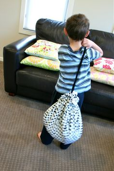 Lego Sack Tutorial           Before I go on, I need to stress that this ingenious sack is NOT my original idea.  Mothers and Grandmothers have been making these for their kids to store Lego in for years.  My guess is that it originated with someone using a...