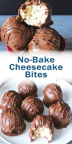 keto no bake cheesecake bites Desserts To Make, Köstliche Desserts, Best Dessert Recipes, Candy Recipes, Chocolate Desserts, Baking Recipes, Cookie Recipes, Delicious Desserts, Yummy Food