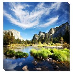 Yosemite Oversized Gallery Wrapped Canvas - Overstock™ Shopping - Top Rated Gallery Direct Canvas