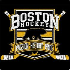 Boston is a city full of history, passion, & pride! This great sticker shows that you are a true believer in the pride of Boston Hockey! Boston Bruins Hockey, Hockey Mom, Hockey Teams, Ice Hockey, Hockey Stuff, Hockey Players, Sports Teams, Boston Sports, Boston Red Sox