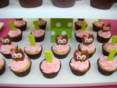 """Photo 10 of 36: Owl / Birthday """"Look whoos turning one"""" 