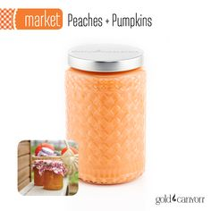 ~Peaches + Pumpkins~ One of the biggest scent trends this fall, Peaches + Pumpkin is juicy, soft and sweet with notes of peach puree, baked pumpkin & vanilla.