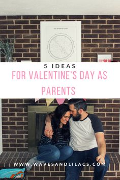 five ideas for valentine's day as parents from @wavesandlilacs