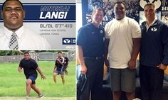 Meet the 410lb college football star offered a scholarship by BYU