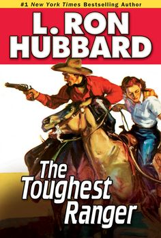 Toughest Ranger, The by L. Ron Hubbard  A perfect role for a young Robert Redford, saddle tramp Petey McGuire  doesn't have much to live for. The trail in front of him stretches out  long and hot, and there's no end in sight. He's been beaten down, beaten  up, and kicked around so long, he'd run away from his own shadow if he  could. But there's one fight he can't run from—the fight against hunger.Petey  needs a job quick, before he drops dead in the dust. But...