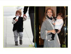 Orlando Bloom's son Flynn in @nununu & Celine's 1 of 2 staying cozy in @nununu velvet leggings!
