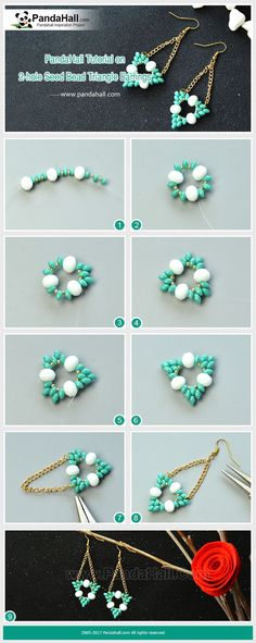 How to Make 2-hole Seed Bead T