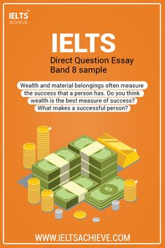 Economics: IELTS Writing Task 2 Direct Question Essay Band 8 sample answer. The question is: Wealth and material belongings often measure the success that a person has. Do you think wealth is the best measure of success? What makes a successful person? Take a look at the model answer.   #SampleAnswer #Economics #IELTSEssay #Wealth #IELTSModalAnswer #WritingTask2  #IELTSQuestion #DirectQuestion #SampleAnswer Ielts Writing Task 2, Economics, Wealth, Thinking Of You, Success, Band, Model, Thinking About You, Sash
