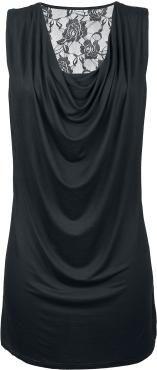 "Black Premium by EMP Short dress, Women ""Sleeveless Backlace Dress"" black • EMP"