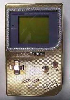 Gold Gameboy