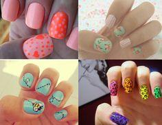 Nail art. Very arty