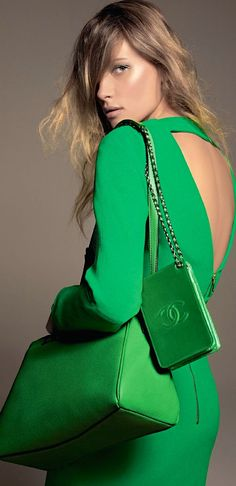 @pinlovinblog | TRENDING: Green Eyes | check out the blog | www.pinlovin.com #green #style #Chanel
