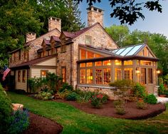 beautiful Conservatory & home