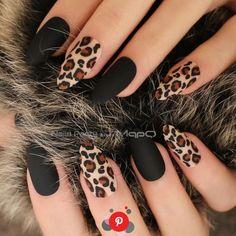 Matte Black / Nude or Burgundy Almond Leopard Print False / False Nails - - . - Matte Black / Nude or Burgundy Almond Leopard Print False / False Nails – – … – – - Fall Acrylic Nails, Acrylic Nail Designs, Cheetah Nail Designs, Fall Nail Art Designs, Burgundy Nail Designs, Black Nail Designs, Fall Gel Nails, Burgundy Nails, Shellac Nail Designs