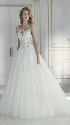 Wonderful Perfect Wedding Dress For The Bride Ideas. Ineffable Perfect Wedding Dress For The Bride Ideas. Wedding Dress Trends, Princess Wedding Dresses, Best Wedding Dresses, Perfect Wedding Dress, Bridal Dresses, 2017 Wedding, Wedding Gowns, Wedding Ideas, Wedding Quotes