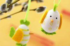 DIY Velikonoce : Velikonoční vajíčko v podobě veselého kuřátka
