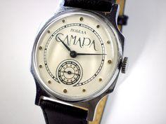 Vintage Pobeda Samara mechanical watch from Soviet/Ussr. $30.00, via Etsy.