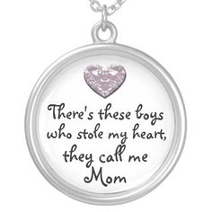 My boys stole my heart Mom necklace, Adult Unisex, Size: Large, Lavender Blush Mothers Day Decor, Mothers Day Crafts For Kids, Unique Mothers Day Gifts, Mother Day Gifts, Perfect Mother's Day Gift, Call My Mom, Mother's Day Diy, New Things To Learn, Fashion Necklace